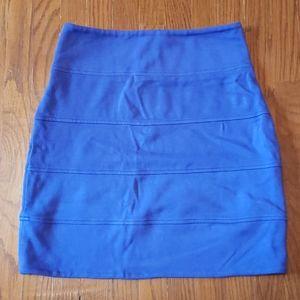Aritzia Talula Bandage Bodycon Mini Skirt